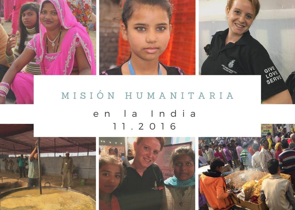 Misión humanitaria en la India